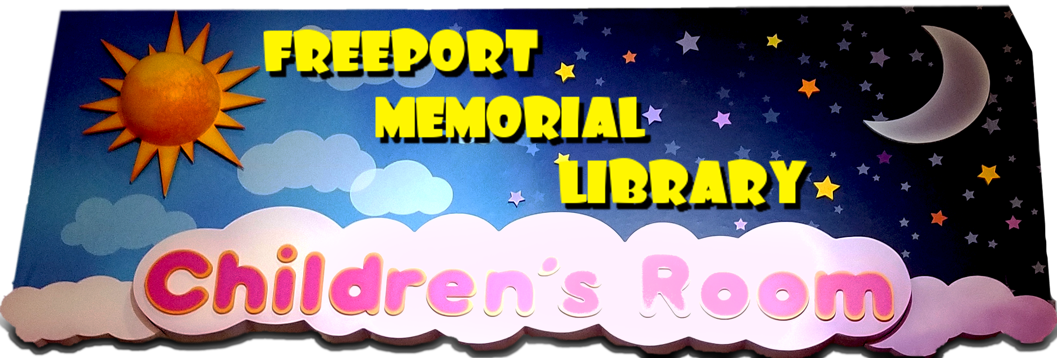 Freeport Memorial Library Children's Page Logo